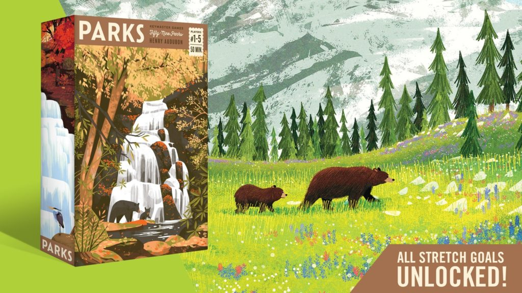 Parks Boardgame