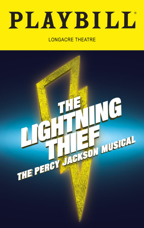 What is the Broadway Cast of The Lightning Thief: the Percy Jackson Musical Reading?