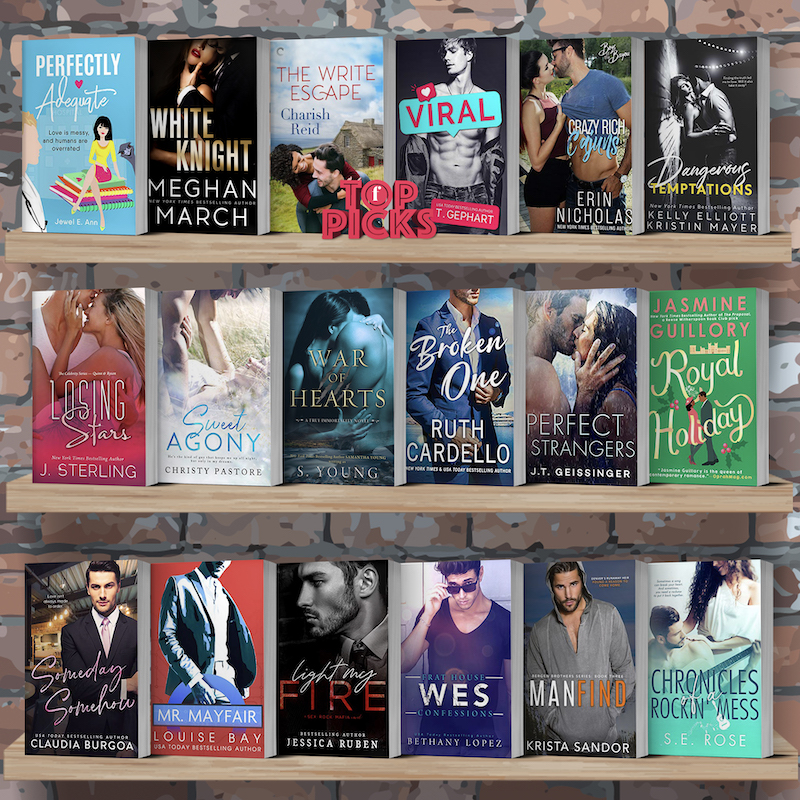 Contemporarily Ever After: Top Picks for the Week of September 29th