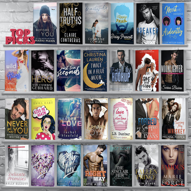 Contemporarily Ever After: Top Picks for the Week of October 20th