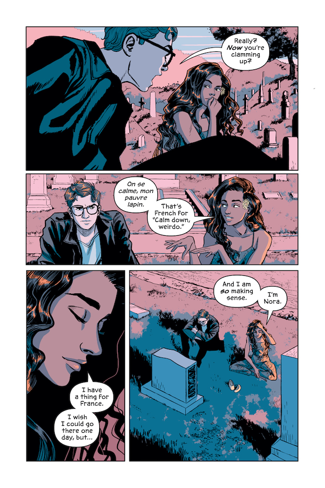 Victor & Nora: A Gotham Love Story by Lauren Myracle and Isaac Goodhart