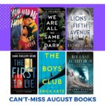 Can't-Miss August Book Releases!