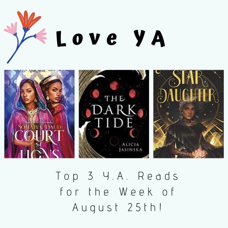 Love Ya Top 3 Y A Reads For The Week Of August 25th Frolic