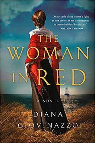 The Woman in Red by Diana Giovinazzo