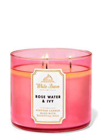 Rose Water and Ivy Candle