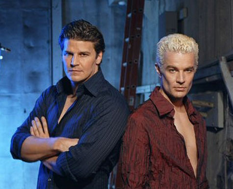 Spike and Angel from Buffy