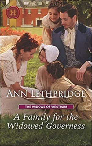 A Family for the Widowed Governess by Ann Lethbridge