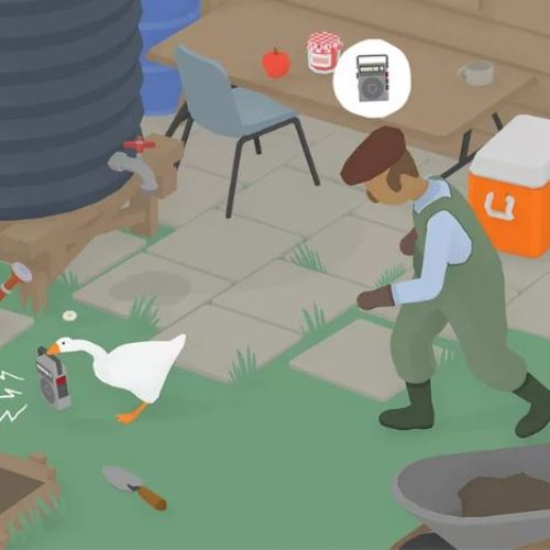 Daily Frolic: Fulfill Your Lifelong Dream of Being an Aggressive Goose