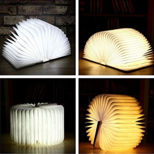 Daily Frolic Light Up Your Reading with this Adorable Book Lamp
