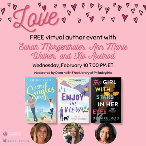 Love at the Library promotional graphic
