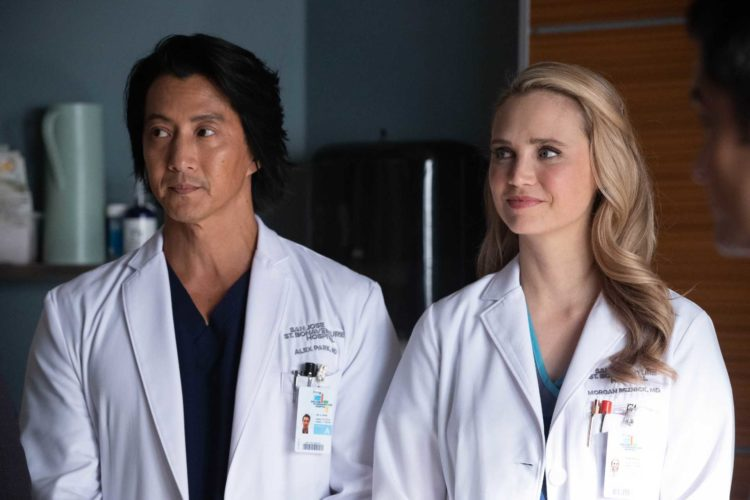 Morgan and Alex The Good Doctor