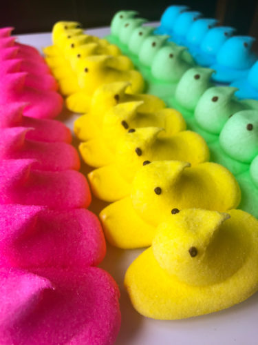 Easter Marshmallow candy peeps