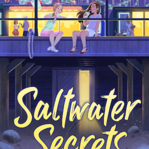 Saltwater Secrets by Cindy Callaghan