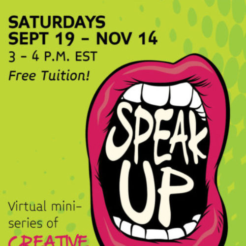 Speak Up Writing Workshop