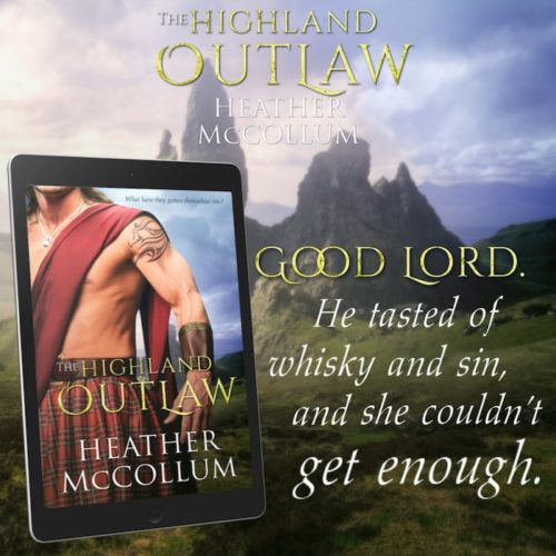 The Highland Outlaw by Heather McCollum