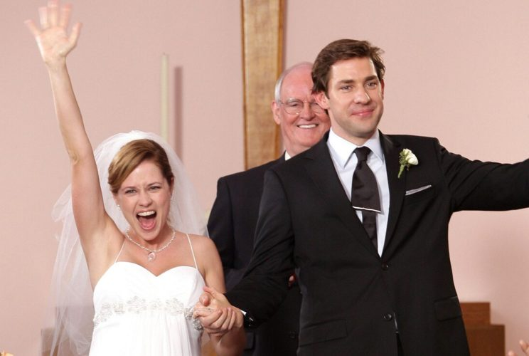 Pam and Jim wedding from The Office