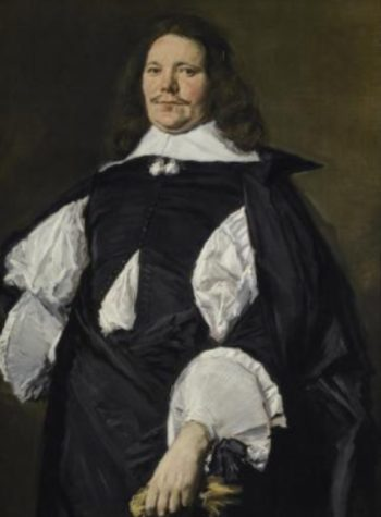 Portrait of a man by Frans Hals, the Frick